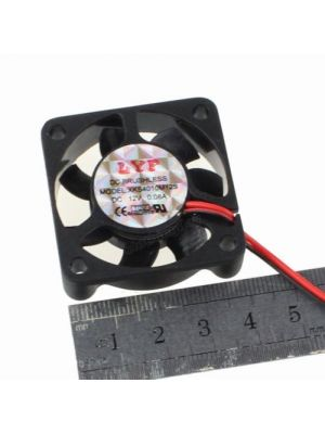 DC Brushless Cooling Fan 4020 5V XH2.54-2Pin 40mm x 40mm x 20mm Ventilation Cooling Fan (suitable for peltier)