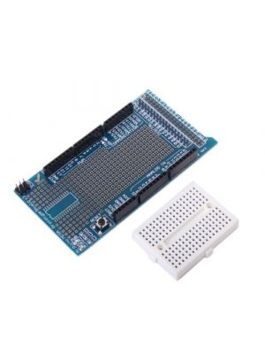 Prototype Shield Protoshield V3 Expansion Board with Mini Bread Board for Arduino MEGA + White breadboard