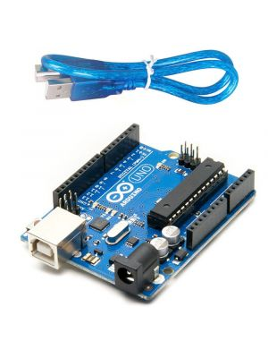 Arduino Uno R3 ATmega328P ATMEGA16U2 Compatible with USB Cable
