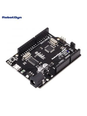 Arduino Uno R3 Compatible development Board with ATmega328P + A6-A7 pins, MicroUSB. - CH340G + USB Cable