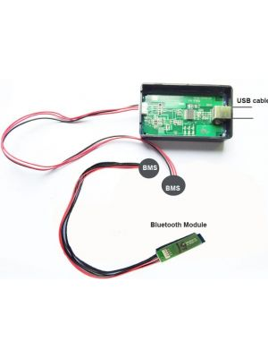 14S 48V-58.8V Li-Ion Battery Smart Bluetooth Mobile BMS with 80A constant charge and discharge and communication function