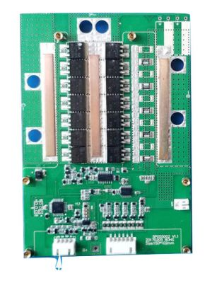 27S Smart BMS for Lithium Ion Battery 113.4V or 97.2V PCB with 100A constant charge and discharge current APP monitoring