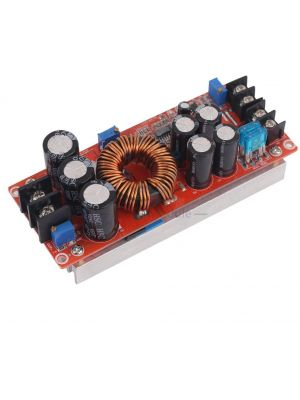 DC-DC 1200W 20A CC CV Boost Converter Step-up Module - Constant Current Constant Voltage Power Supply Module - 10V-60V to 12V-83V regulator