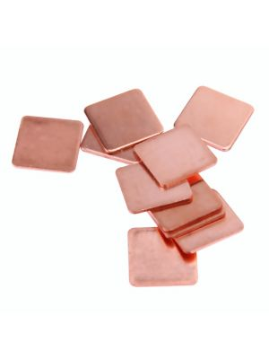 20x20x0.3mm Pure Copper Heatsink Copper Shim Thermal Pad - 20 x 20mm Thickness 0.3mm - for Laptop IC Raspberry PI  - 1PCS