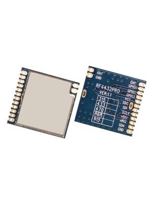 RF4432PRO CE Certified 100mW Industrial wireless transceiver module