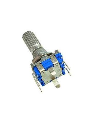 Rotary encoder - code switch/EC11/ digital potentiometer with switch 5Pin handle length (15MM)
