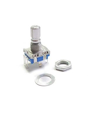 EC11 10K Rotary Encoder - 20mm Plum handle - Digital Potentiometer Coding Volume Control - 5 Pin with switch