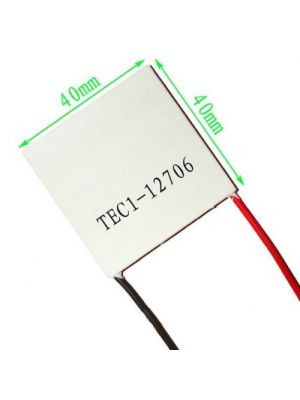 TEC1-12706 6.4A 15.4V 63W - 127 Couples Thermoelectric Peltier Cooler Module - Industry Grade 4.2MM Thick