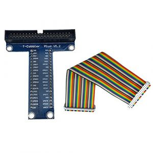 40 Pin Extension Board Adapter + 40 Pin GPIO Cable Line for Raspberry Pi 2 and 3