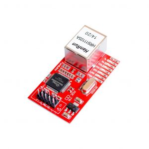 Mini W5100 Ethernet Network Board Module Shield for Arduino AVR 51 LPC STM32 (Red)