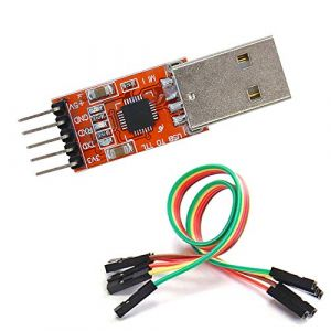 CP2102 USB 2.0 to TTL UART Module 5Pin RED