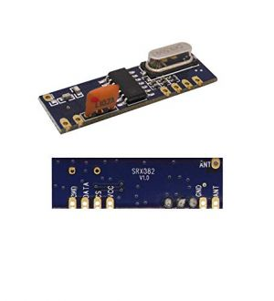 433MHz - Superheterodyne Long Distance ASK Wireless Module kit - RF Transmitter STX882 + Receiver SRX882 + Copper Spring Antennas - for Arduino and other MCU's