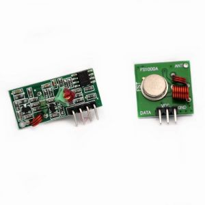 315MHz - ASK Wireless Module kit - RF Transmitter XD-FST + Receiver XD-RF-5V - Built-in Copper Spring Antennas - for Arduino and other MCU's