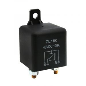 48V 120A Automotive high current relay 2.4W Continuous type for relay Car Truck Motor