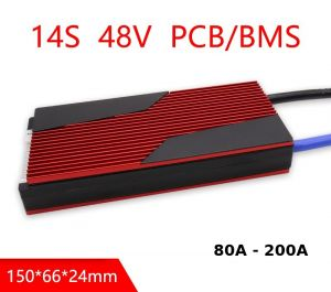 14S 48V Li-ion BMS 200A Common port With Balance For Solar Energy System lithium battery