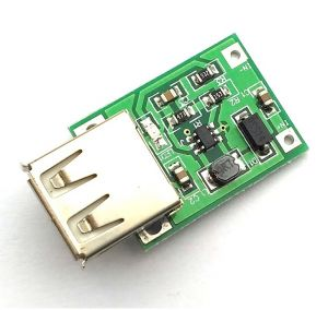 Mini Boost Converter - USB Output Mini DC - DC Step up Boost Power Converter Module (3V to 5V 1.5A)
