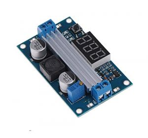 LTC1871 100W DC DC Step Up Booster Converter Module Power Supply Voltage Regulator 3-35V to 3.5-35V with Voltmeter