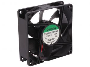 Sunon EF80251S1-10000-A99 DC Brushless Fan 80X80X25 mm 3200 RPM Speed