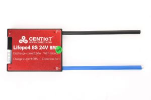8S 24V waterproof 60A BMS Lithium lipo lifepo4 bms for electric scooter use for lithium battery
