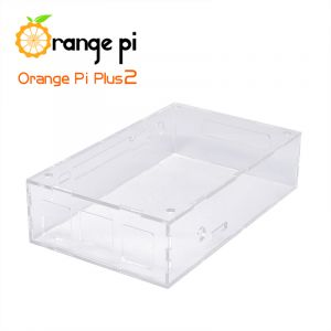 Orange Pi Transparent Acrylic Case suitable for Plus 2