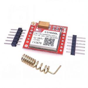 Smallest SIM800L GPRS GSM Module MicroSIM Card Core Board Quad-Band TTL Serial Port - with Antenna
