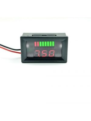 Battery Power Indicator - 6V Lead-acid Battery Charge Level Indicator Voltmeter