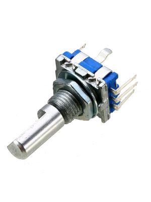 EC11 10K Rotary Encoder - 20mm Half handle - Digital Potentiometer Coding Volume Control - 5 Pin with switch