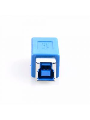 USB to USB Coupler Adapter Converter - USB 3.0 Type B Female to Micro B Male connector
