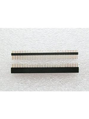 20PCS/Lot 1x40 Pin 1.27 mm Single Row Female & Male Pin Header