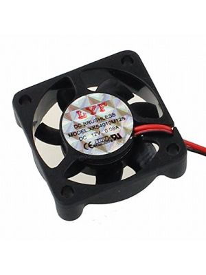 DC Brushless Cooling Fan 4010 12V XH2.54-2Pin 40mm x 40mm x 10mm Ventilation Cooling Fan (suitable for peltier)