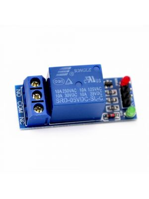 1 Channel 5V Relay Module high Level with LED indicator without light coupling
