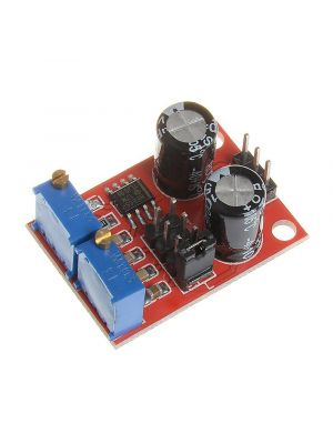 NE555 Pulse Frequency Duty Cycle Adjustable Module Square Wave Signal Generator DC 5V-15V