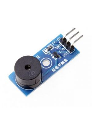 Passive Speaker Buzzer Module with PCB and Protection - for Arduino and Raspberry pi (Blue)