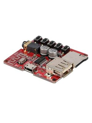 HW-771 Bluetooth 4.1 Lossless MP3 Decoder Board with USB and TFT - 5V Car Speaker Audio Amplifier Board Receiver Module