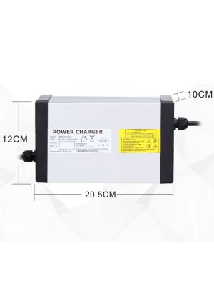 15S Faster Lithium Battery Charger 63V 7A For 55.5V Ebike Battery With 4 Cooling Fan