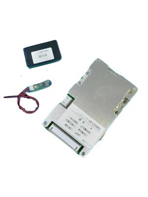 14S 48V-58.8V Bluetooth BMS with PC adapter for Li ion Battery PCB board with 100A constant charge and discharge and communication function
