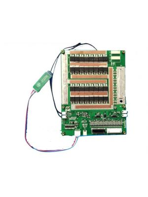 16S 60V-67.2V Li ion Battery Smart BMS PCB board with UART communication and Bluetooth Function 100A