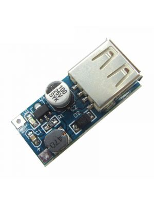 Mini Boost Converter - USB Output Mini DC - DC Step up Boost Power Converter Module (DC 0.9-5V to 5V 500mA)