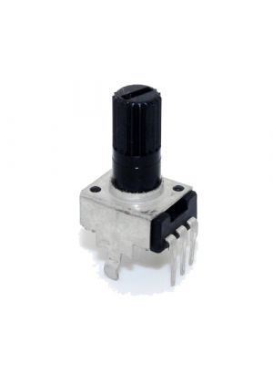 EC12 10K Rotary Encoder - 12MM Plum handle - Digital Potentiometer Coding Volume Control - 5 Pin