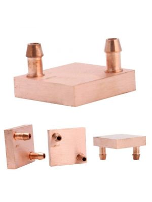 Copper Water cooling heatsink 40*40 Top nozzle