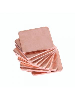 20x20x1.2mm Pure Copper Heatsink Copper Shim Thermal Pad - 20 x 20mm Thickness 1.2mm - for Laptop IC Raspberry PI