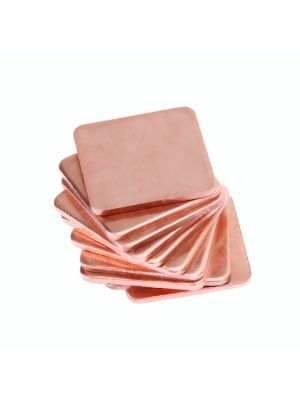 20x20x1mm Pure Copper Heatsink Copper Shim Thermal Pad - 20 x 20mm Thickness 1mm - for Laptop IC Raspberry PI  - 1PCS