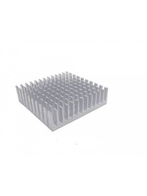 Silver 40 x 40 x 10mm 40mm Heat sink Aluminum Heatsink Cooler