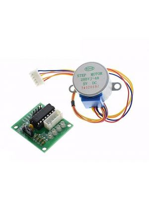 Stepper Motor 28YBJ-48 DC 5V 4 Phase 5 Wire - with ULN2003 Driver Board